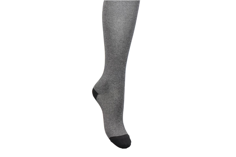 Strømper og tights BLEUFORÊT Collants Capsules Lurex Sølv detaljeret billede af skoene
