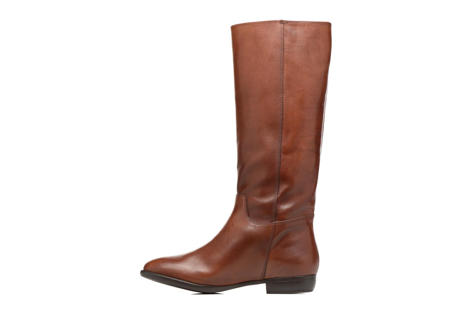 Boots & wellies Jonak 1137 Brown front view