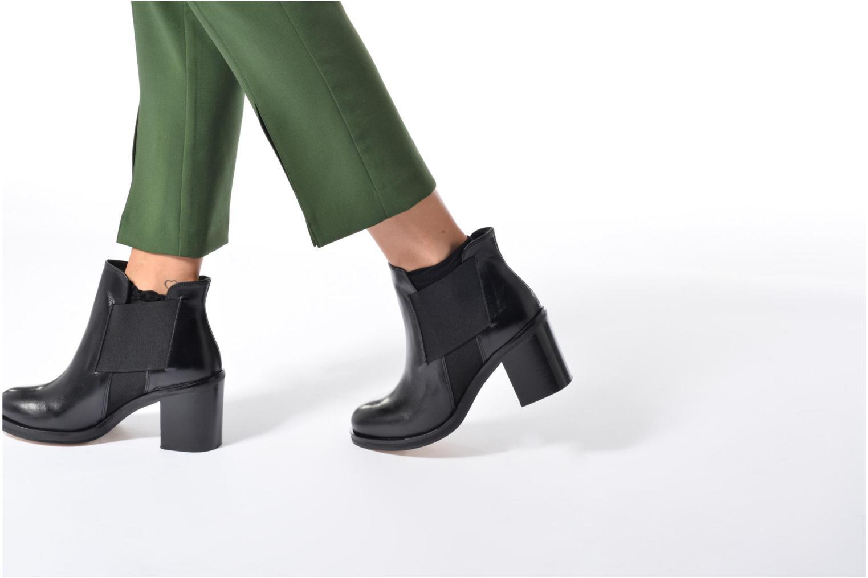 Bottines et boots Jonak VERMONT Noir vue bas / vue portée sac