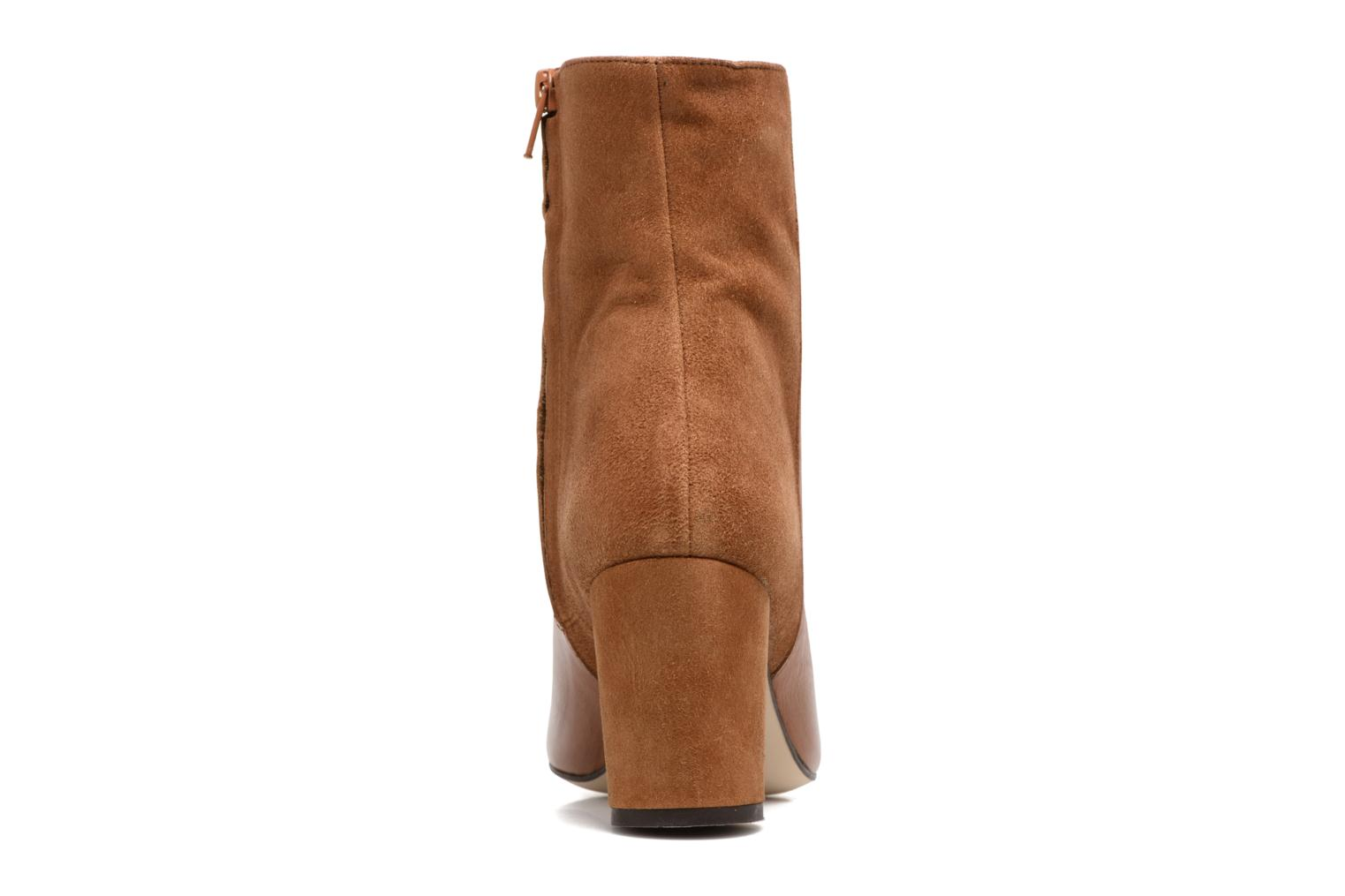Ankle boots Jonak 11700 Brown view from the right