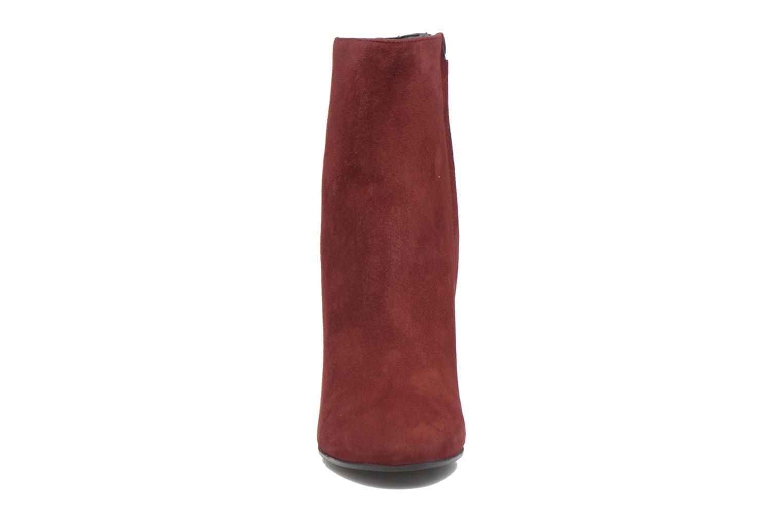 Bottines et boots Jonak Vraca Bordeaux vue portées chaussures