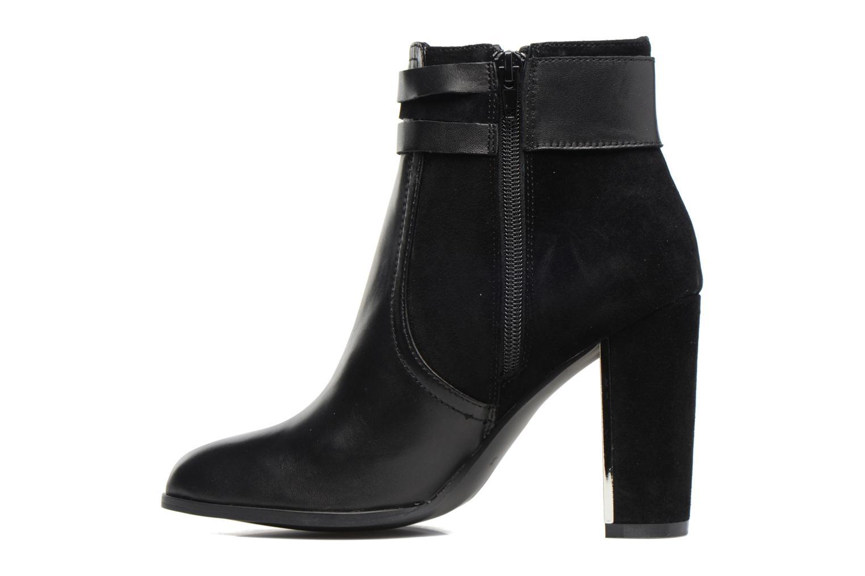 Boots en enkellaarsjes Jonak Segura Zwart voorkant