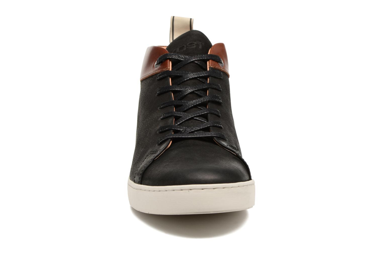 Baskets Kost Tifra Noir vue portées chaussures