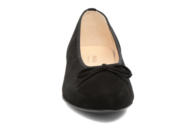 Ballerines Hassia Juliette 937 Noir vue portées chaussures
