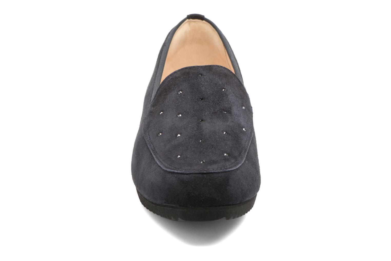 Mocassins Hassia Eloïse 1452 Bleu vue portées chaussures