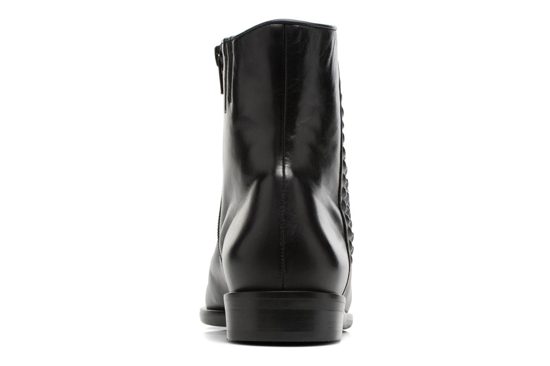 Bottines et boots Hassia Elisa 1187 Noir vue droite