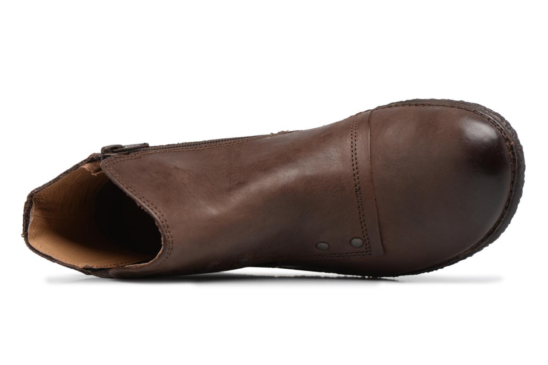 Boots en enkellaarsjes Kickers HAPPLI Bruin links