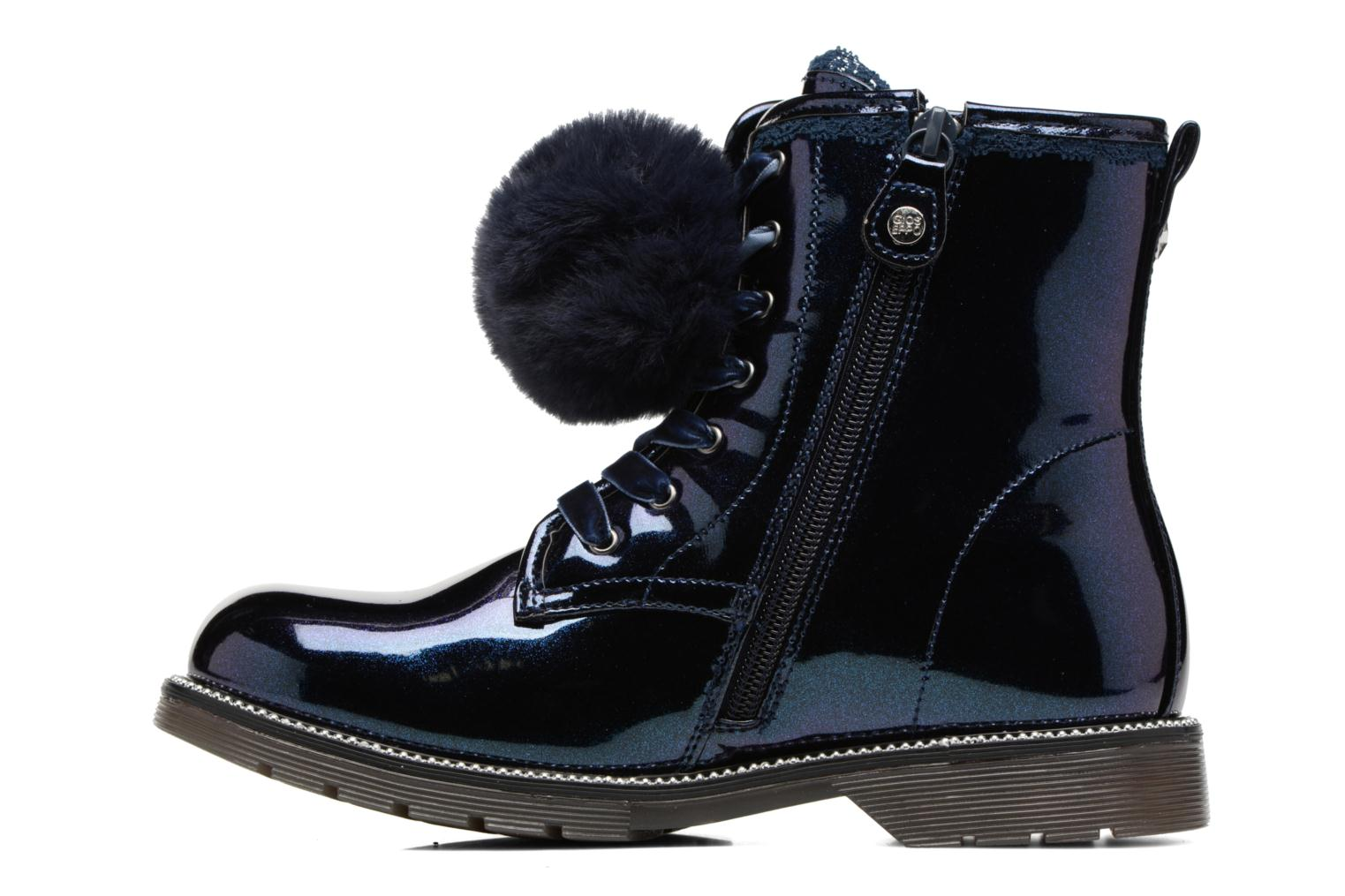 Ankle boots Gioseppo 41510 Blue front view