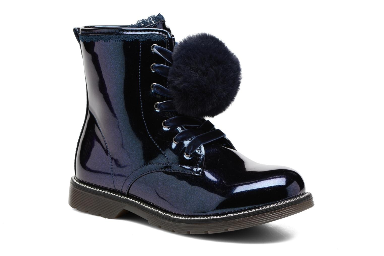 Ankle boots Gioseppo 41510 Blue detailed view/ Pair view