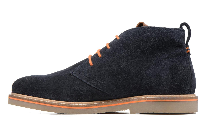 Zapatos con cordones Gioseppo 42253 Azul vista de frente