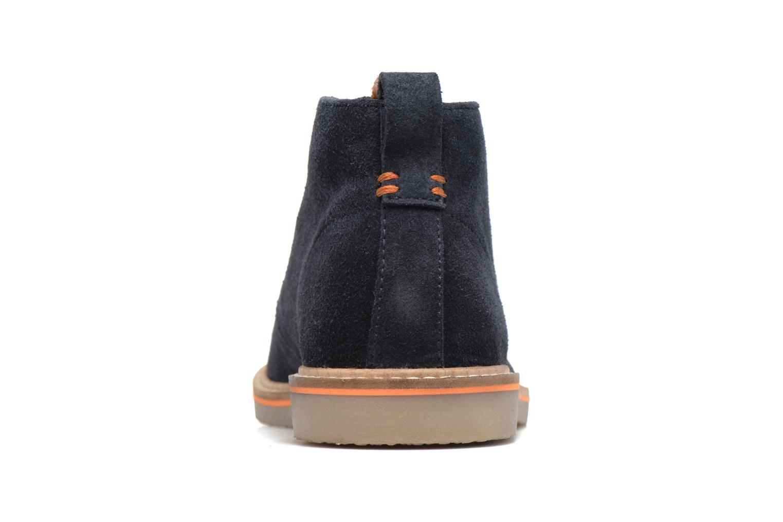 Zapatos con cordones Gioseppo 42253 Azul vista lateral derecha