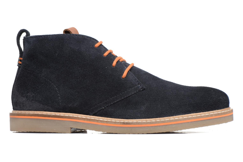 Zapatos con cordones Gioseppo 42253 Azul vistra trasera
