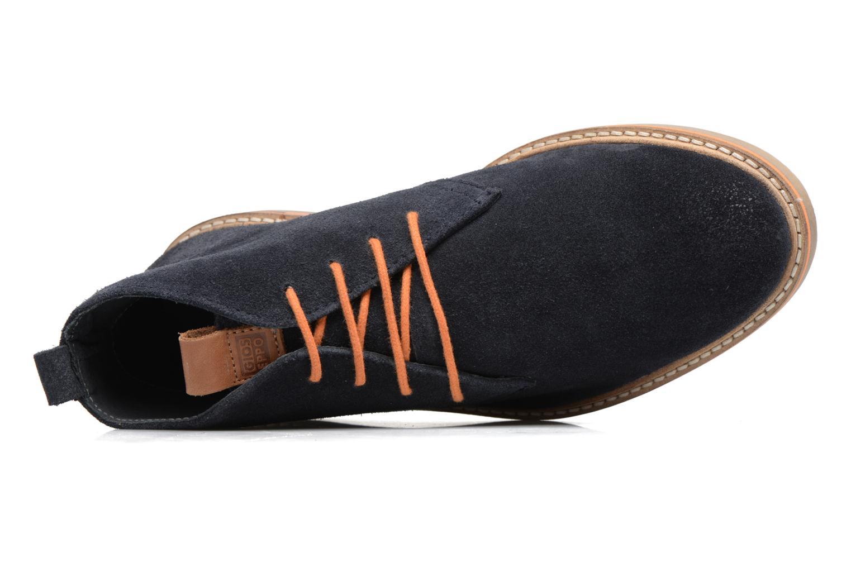 Zapatos con cordones Gioseppo 42253 Azul vista lateral izquierda