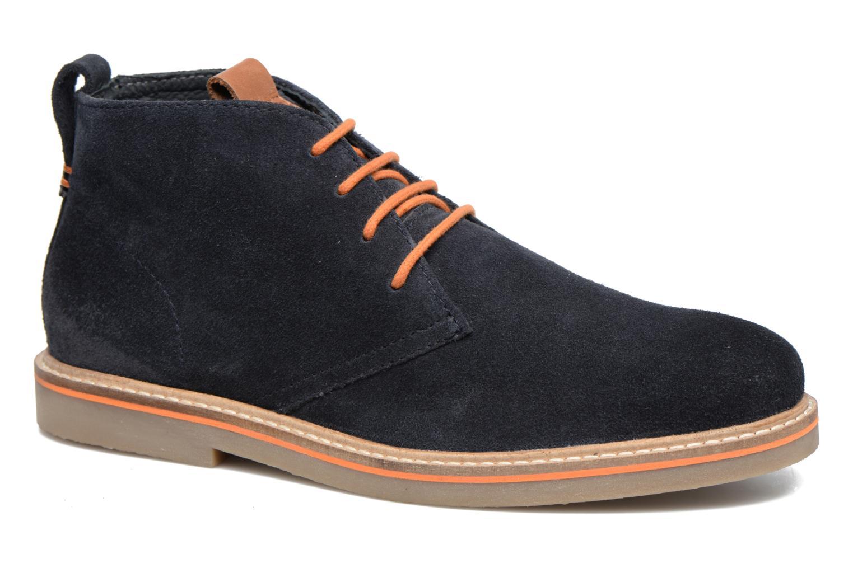 Zapatos con cordones Gioseppo 42253 Azul vista de detalle / par