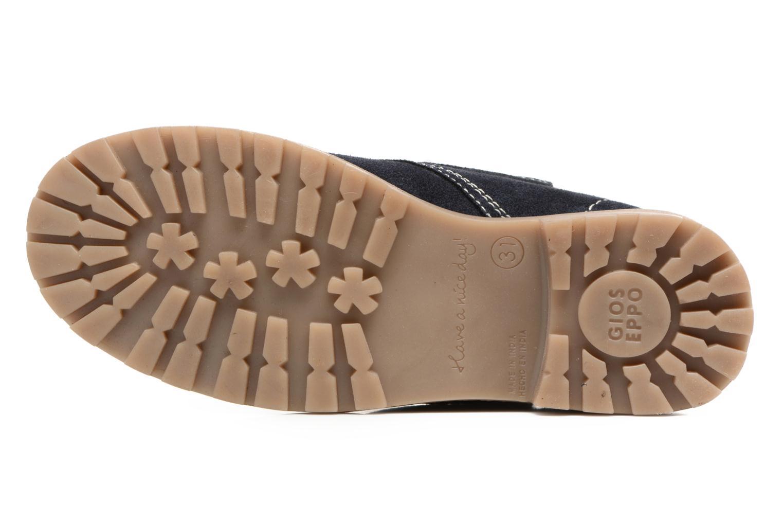 Bottines et boots Gioseppo 41478 Bleu vue haut