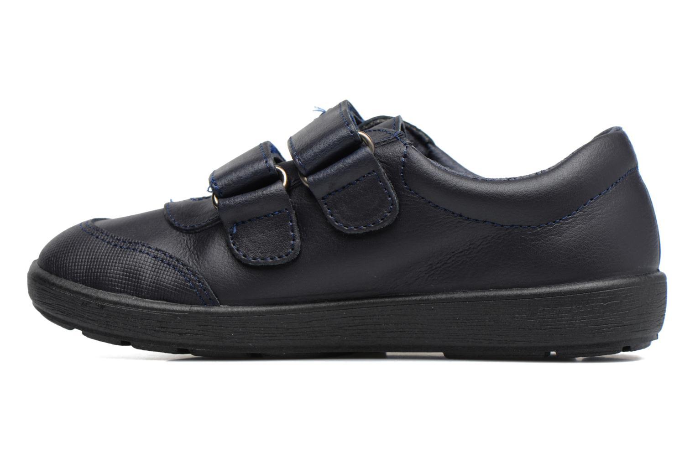 Zapatos con velcro Gioseppo NEWTON Azul vista de frente