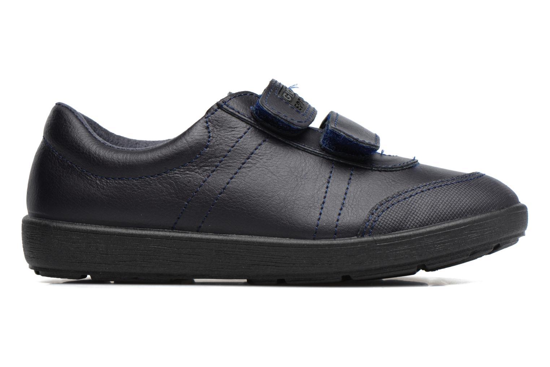 Zapatos con velcro Gioseppo NEWTON Azul vistra trasera