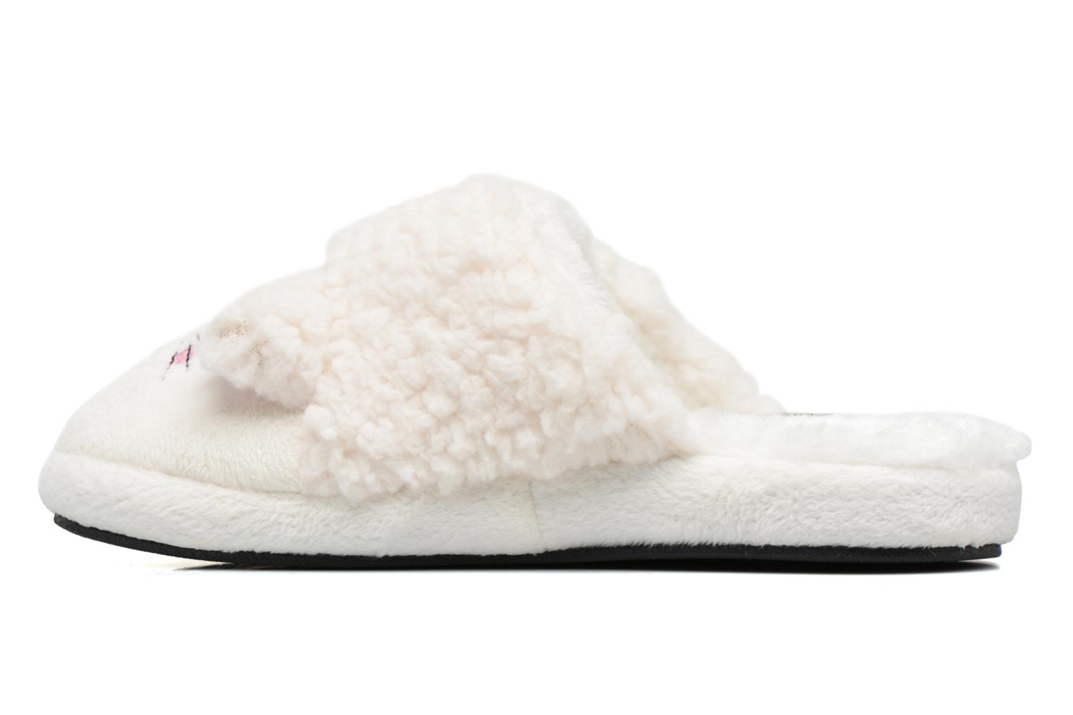 Slippers Gioseppo 40948 White front view