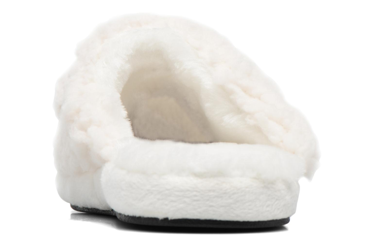 Slippers Gioseppo 40948 White view from the right