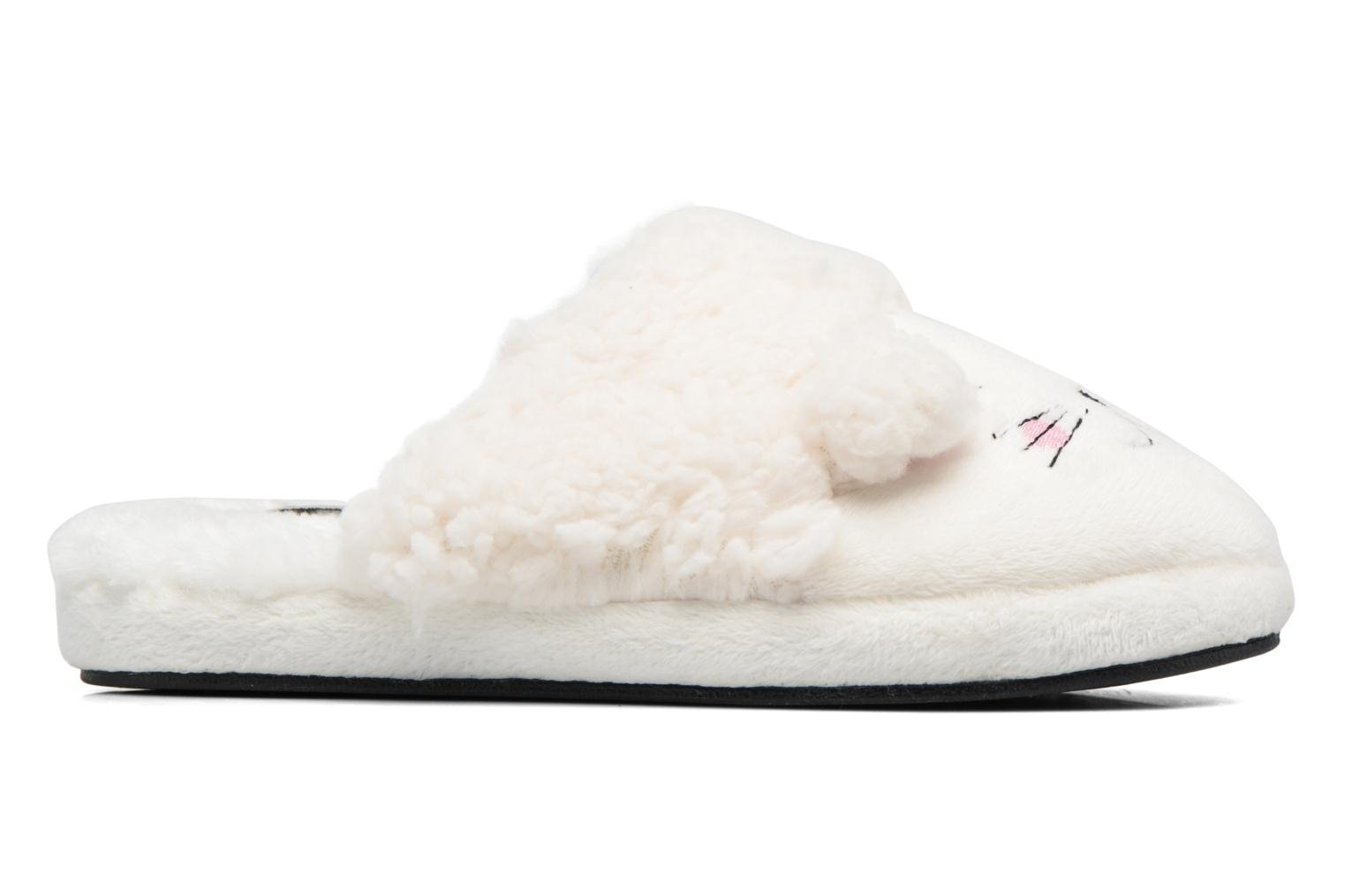 Slippers Gioseppo 40948 White back view