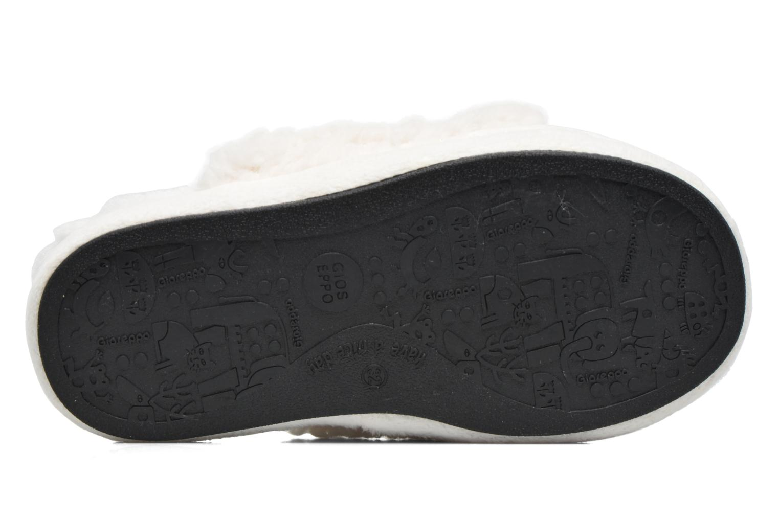 Slippers Gioseppo 40948 White view from above