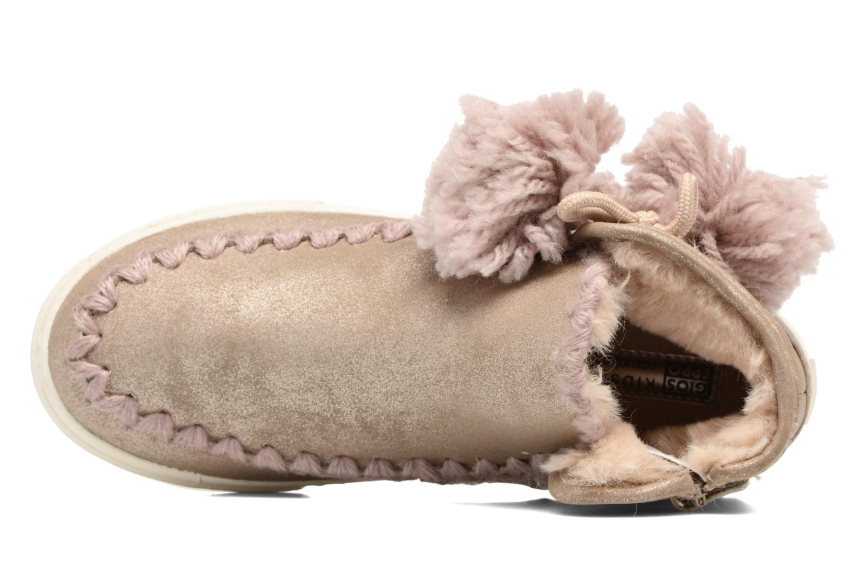 Bottines et boots Gioseppo 41795 Or et bronze vue gauche