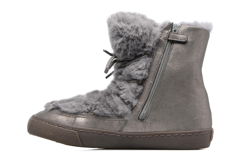 Stiefel Gioseppo 41860 grau ansicht von vorne