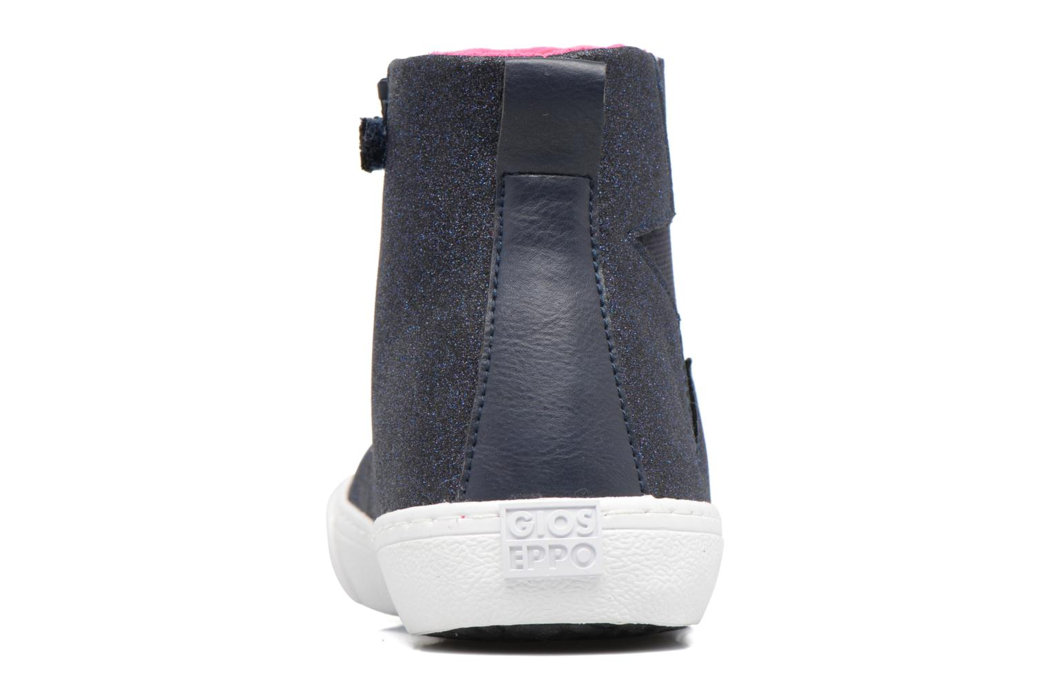 Ankle boots Gioseppo 41813 Blue view from the right