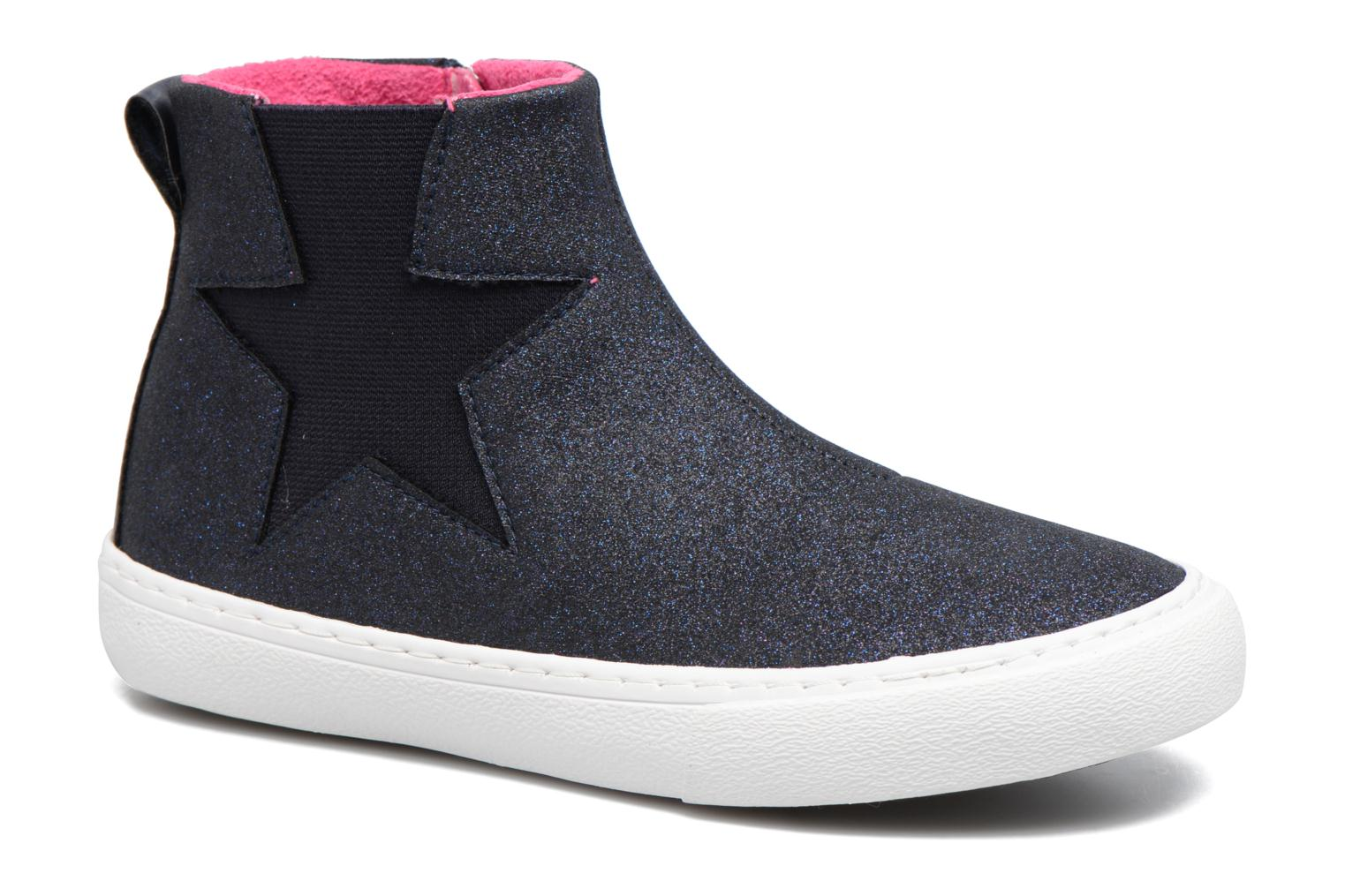 Ankle boots Gioseppo 41813 Blue detailed view/ Pair view