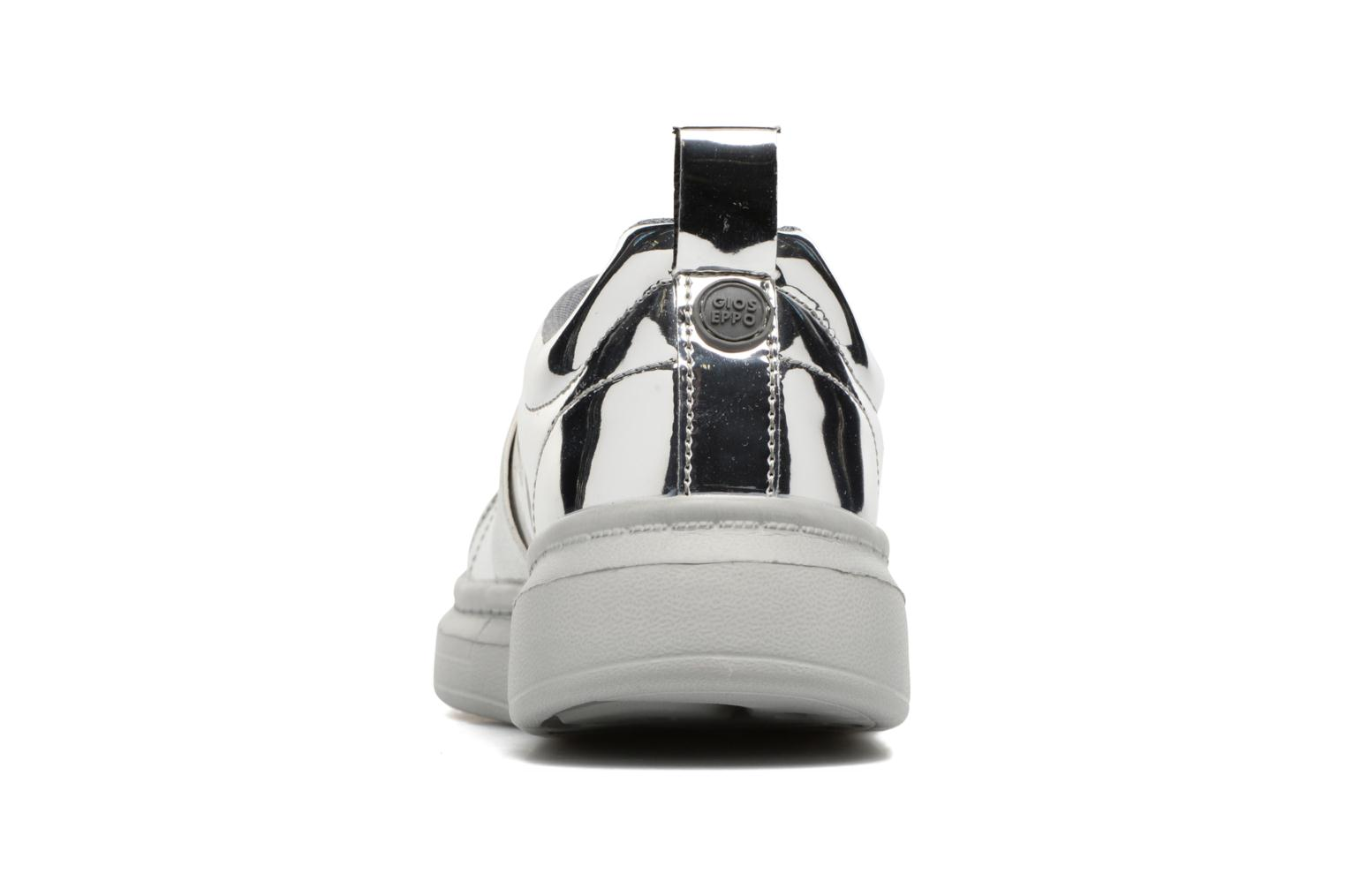 Trainers Gioseppo 41884 Silver view from the right