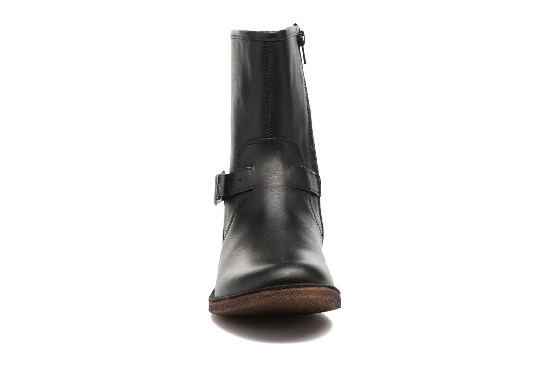 Bottines et boots Kickers CREEK Noir vue portées chaussures