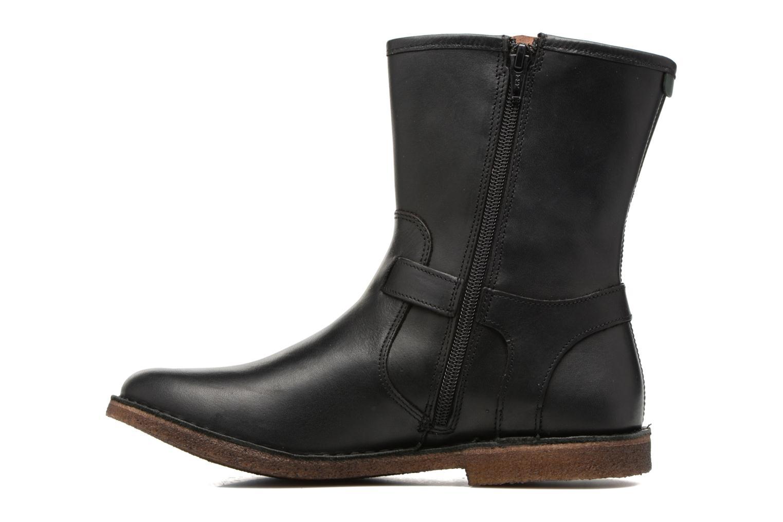 Boots en enkellaarsjes Kickers CREEK Zwart voorkant