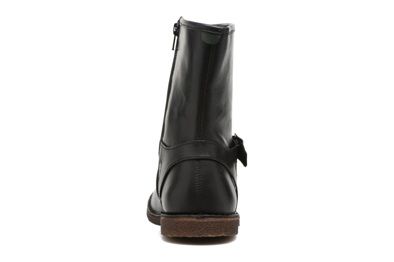 Bottines et boots Kickers CREEK Noir vue droite