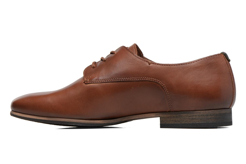 Chaussures à lacets Kickers GAZELLAN Marron vue face