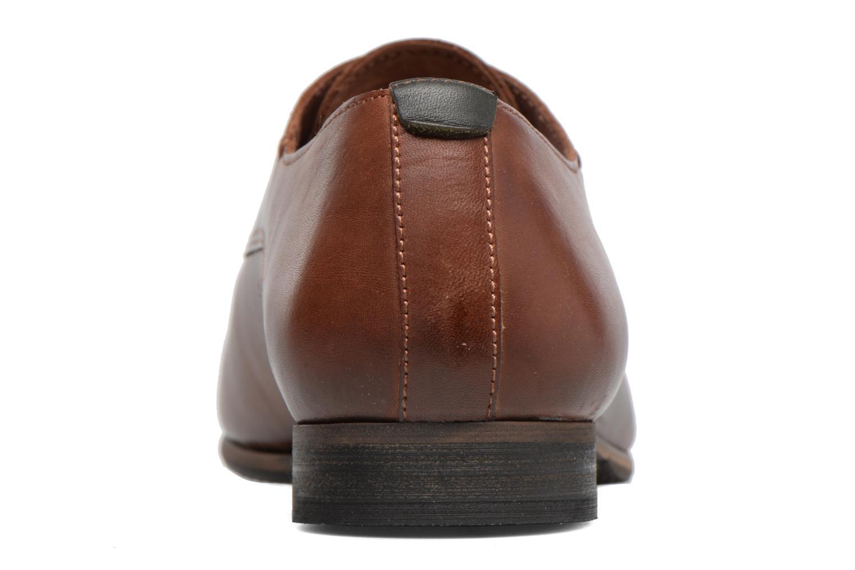 Chaussures à lacets Kickers GAZELLAN Marron vue droite