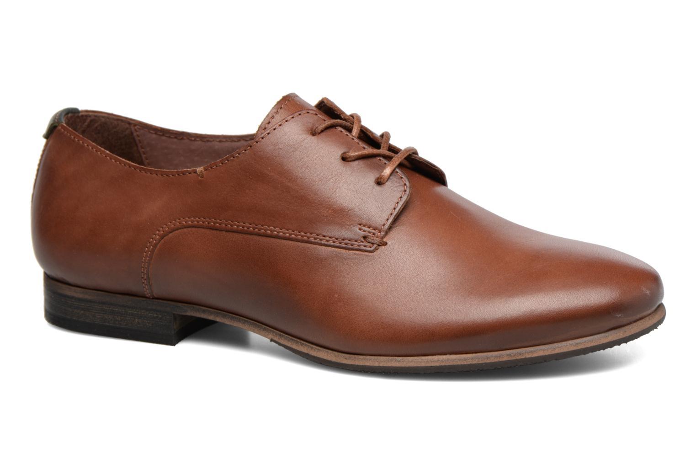 Chaussures à lacets Kickers GAZELLAN Marron vue détail/paire