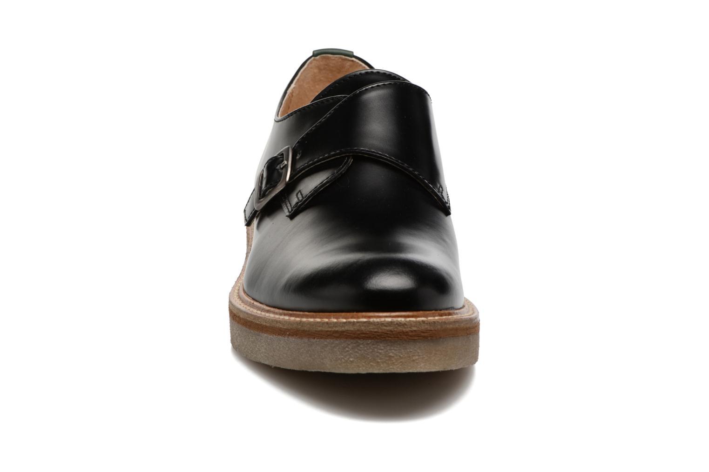 Mocassins Kickers Oxform Noir vue portées chaussures