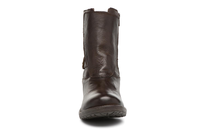 Bottines et boots Kickers REKKAN Marron vue portées chaussures
