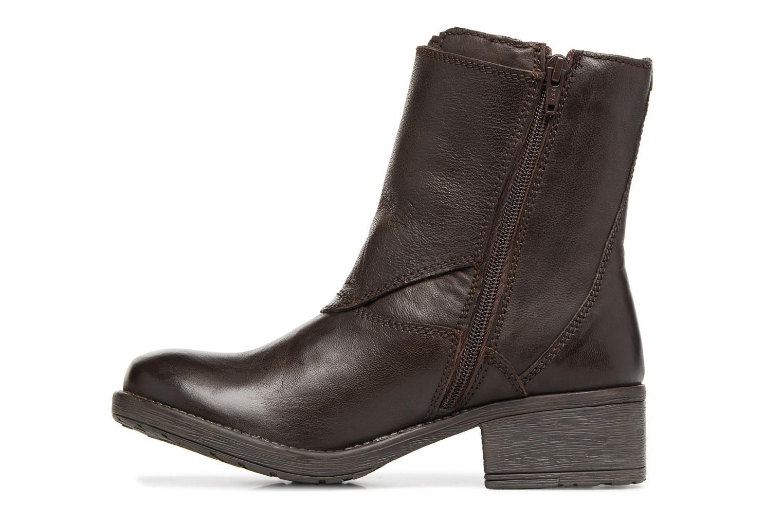 Bottines et boots Kickers REKKAN Marron vue face