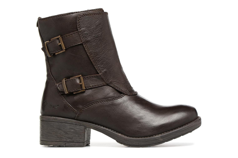 Bottines et boots Kickers REKKAN Marron vue derrière