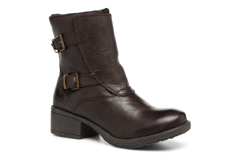 Bottines et boots Kickers REKKAN Marron vue détail/paire
