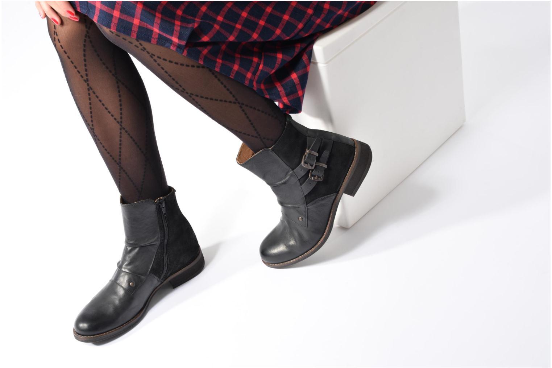 Bottines et boots Kickers SMATCH Marron vue bas / vue portée sac
