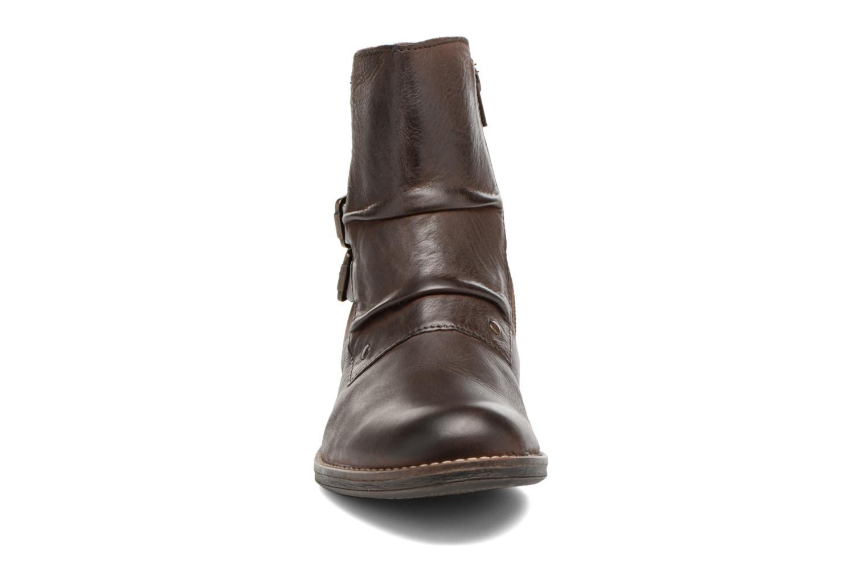 Bottines et boots Kickers SMATCH Marron vue portées chaussures