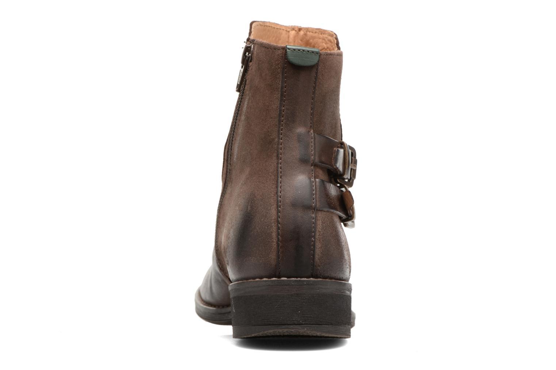 Bottines et boots Kickers SMATCH Marron vue droite