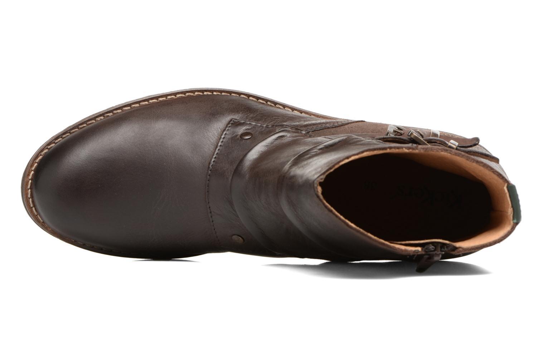 Bottines et boots Kickers SMATCH Marron vue gauche