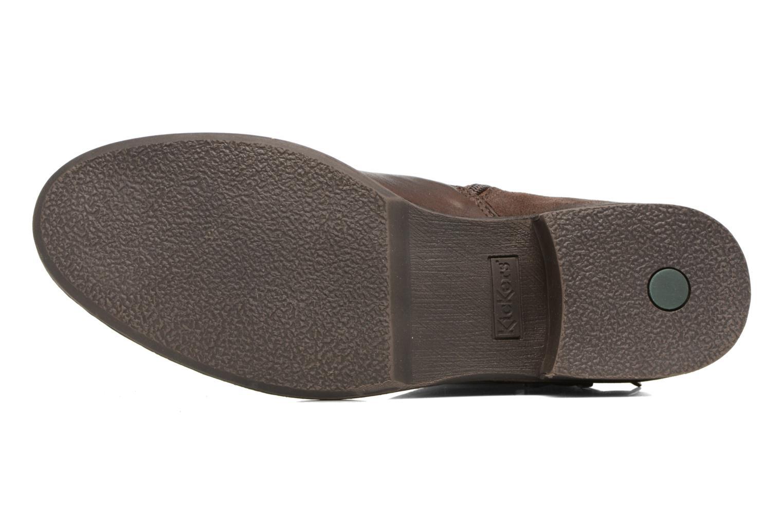 Bottines et boots Kickers SMATCH Marron vue haut