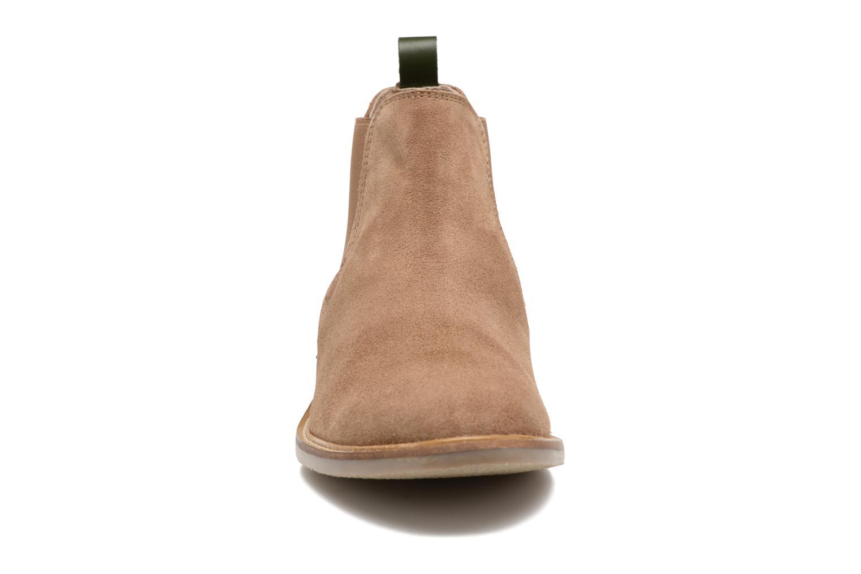 Bottines et boots Kickers TYGA Beige vue portées chaussures