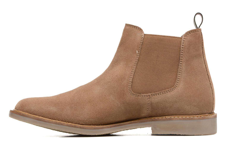 Bottines et boots Kickers TYGA Beige vue face