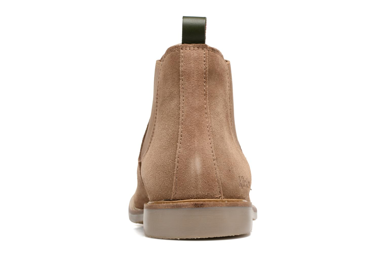 Bottines et boots Kickers TYGA Beige vue droite