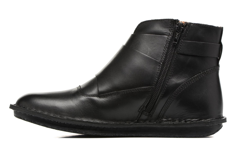 Bottines et boots Kickers WABOOT Noir vue face